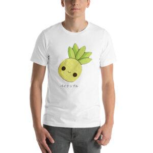 T-shirt ananas homme Kawaii