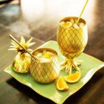 Verres Ananas à Cocktail Doré (500 ml)