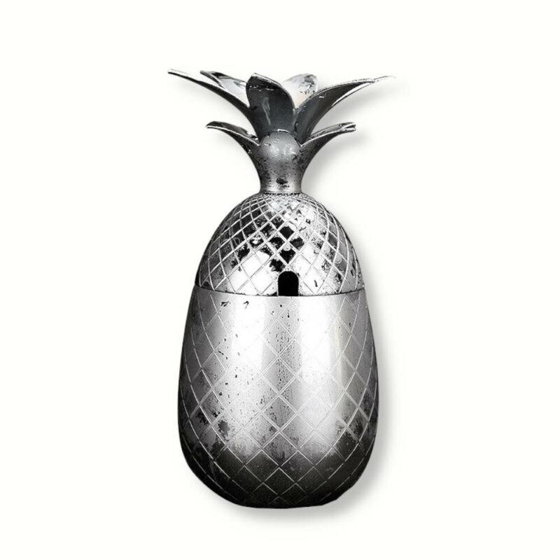 verre à cocktail en forme d'ananas en inox